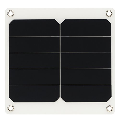 Generic 10W 5V Sun Power Waterproof Solar Panel with USB Ports for Outdooors Home Cooling Ventilation (Solar-panel Usb-port)