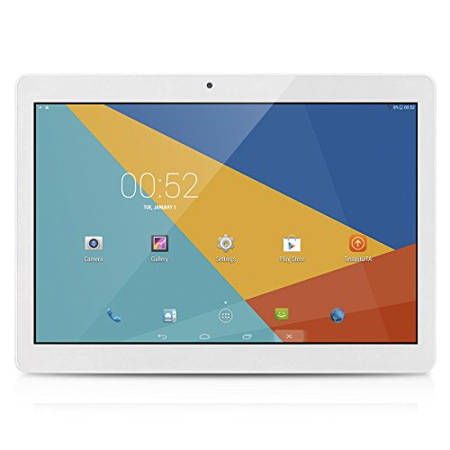 Teclast Tbook X10 - 10.1 Zoll Tablet PC 3G Smartphone Android 6.0 Dual SIM (1280*800P IPS, MT6580 1.3GHz Quad Core, 1G RAM 16GB ROM, WIFI, 5MP Kamera, Bluetooth)