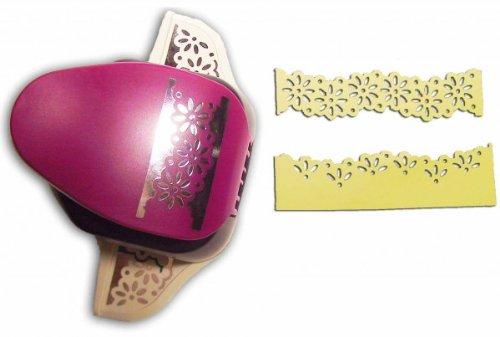 EFCO 2Funktionen Bordüre Daisy, Pink, 2Zoll/5,1cm