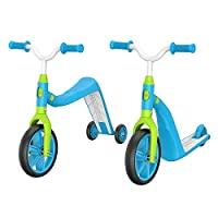 Macwheel MK2 Toddler Scooter, Convertible 4-in-1 Ride-On Balance Trike & Training Bike, Kick Scooter for Kids Ages 2-5 Year