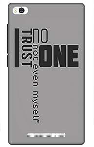 iessential inspire Designer Printed Back Case Cover for Mi 4i
