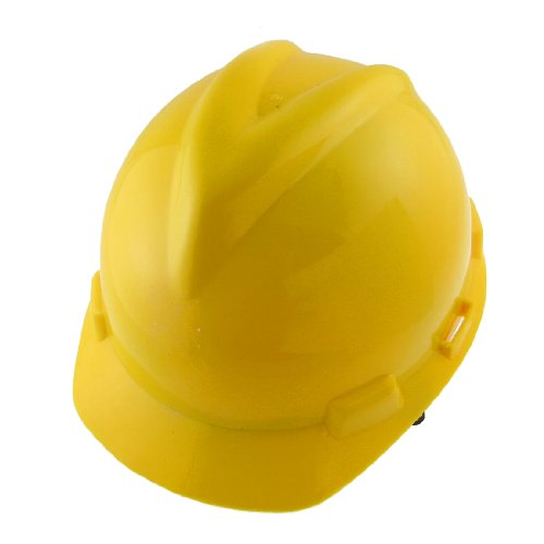 (Gelb verstellbarem Gurt Hartplastik Bau Sicherheits Hut Mütze de)