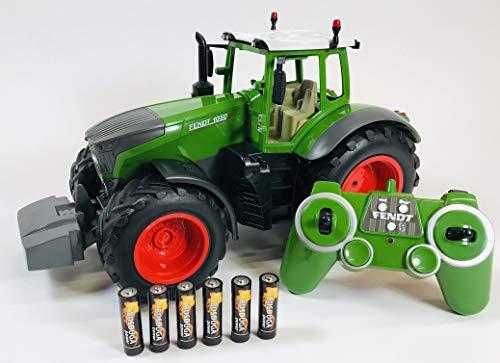 RC Traktor kaufen Traktor Bild 1: BUSDUGA RC Ferngesteuerter Traktor FENDT 1050 Vario 1:16 - 2,4Ghz, inkl. Batterien - Sound - RTR (Ready-to-Run) Sofort Spielbereit - Lizenz NACHBAU*