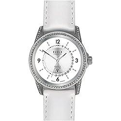 Garde' Uhren aus Ruhla Funkuhr Damenuhr mit Saphirglas FU 95-101 Datum