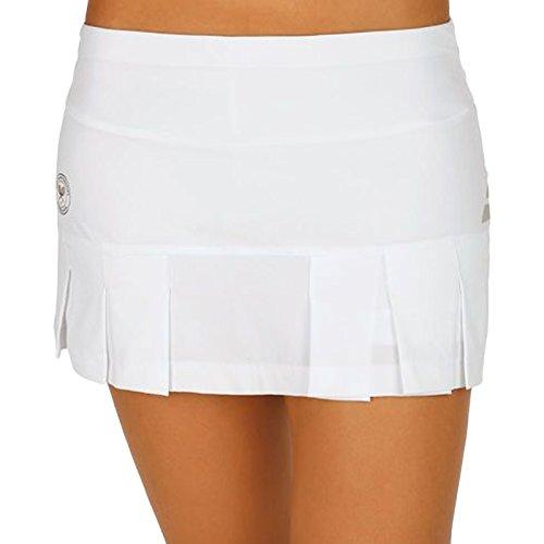 Babolat Damen Performance Wimbledon Skort Women Oberbekleidung, Weiß, L