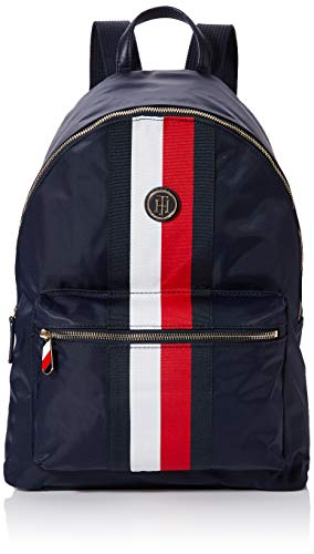 Tommy Hilfiger Poppy Backpack Corp, Borse Donna, Bianco (Corporate), 1x1x1 Centimeters (W x H x L)