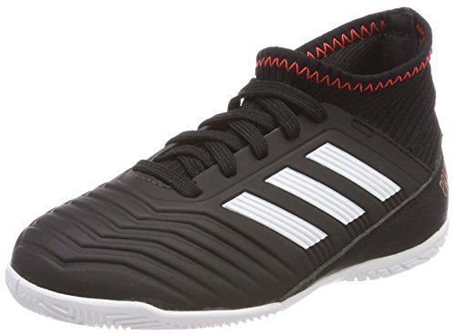 adidas Unisex-Kinder Predator Tango 18.3 in Gymnastikschuhe, Mehrfarbig (Core Black/FTWR White/Solar Red), 36 EU