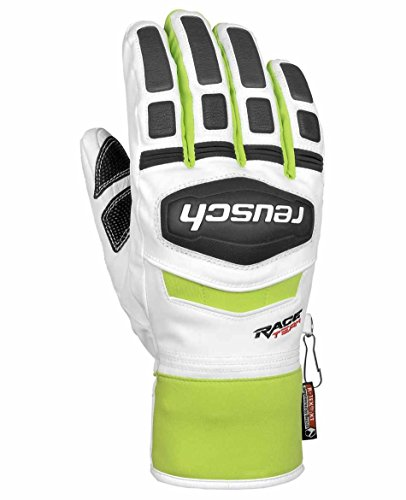 Reusch Training R-TEX® XT - 7, white / neon green,white / black