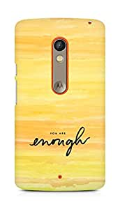 AMEZ you are enough Back Cover For Motorola Moto X Play