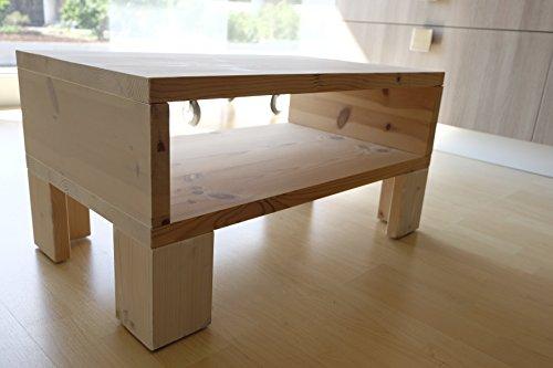 Tavolino Portariviste Legno.Tavolino Da Salotto Coffee Table Portariviste In Legno