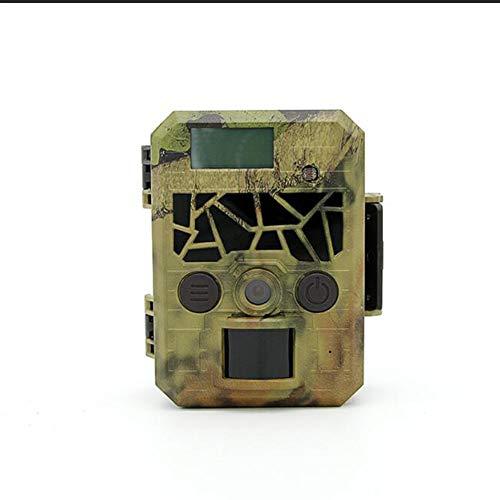 BTSSA Mini Wildkamera mit Bewegungsmelder Nachtsicht, Wildkamera Fotofalle 1080P Full HD 16MP Jagdkamera Infrarote 20m IP66 Wasserdicht Überwachungskamera