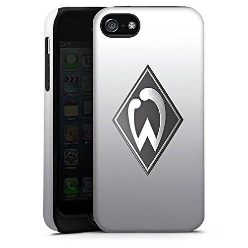 Apple iPhone 6 Silikon Hülle Case Schutzhülle Werder Bremen Fanartikel SV Fussball Tough Case matt