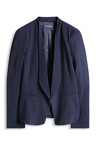 ESPRIT Collection Damen Blazer Blau (NAVY 400)