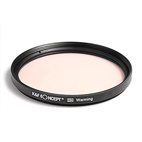 K&F Concept 58MM filtre WARMING+Full Color/Couleur