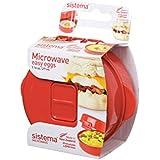 Sistema Microwave Easy Eggs Cooker - 270 ml, Red