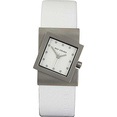Uhr - Turn - weiß/silberfarben