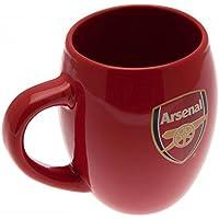 Arsenal FC Official Football Gift Tea Tub Mug - A Great Christmas / Birthday Gift Idea For Men And Boys