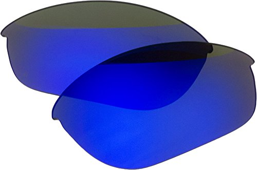 Zero Ersatz-Objektive für Oakley Half Jacket polarided Sonnenbrille, Blue Mirror Polarized