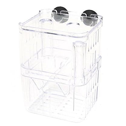 Plastic Fish Tank Aquarium Isolation Self Floating Divider Clear 1