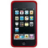 Amzer Silicone Skin Jelly Case for iPod Touch 2G/ iPod Touch 3G - Maroon Red