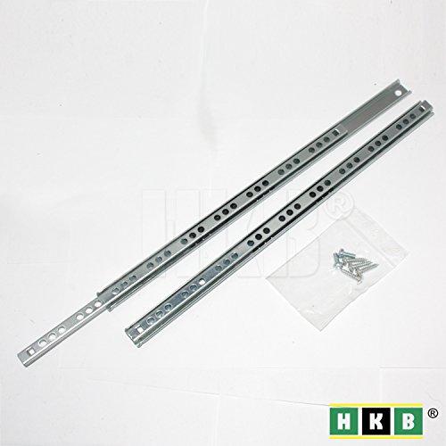 HKB ® Schubladenschiene Teilauszug, 310 - 17mm