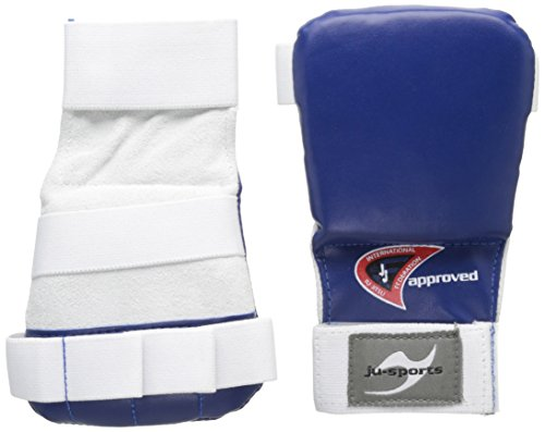 Ju-Sports Uni Ju-Jutsu Handschoner Pro, blau, M, 6206202