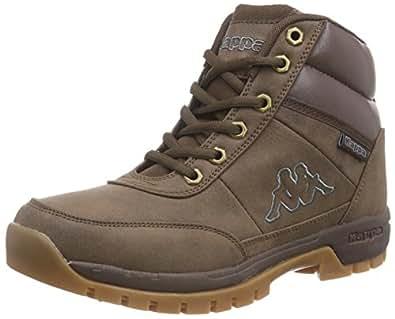 Kappa 241262 Bright Mid, Chaussures montantes mixte adulte - Marron (brun), 44 EU
