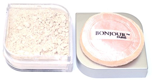 Bonjour Paris Pearl Powder Nude Gold Stars, 9.5 gms