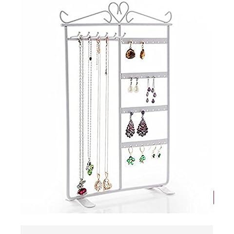 ZBDJ Gioielleria Display Rack Finestra Ornamenti Decorazione Props Rack collana gioielli Rack Bracciale Rack ( colore : 2 )
