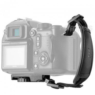 JJC hs-m1Mikrofaser PU-Leder Handschlaufe für Kamera (Für Nikon D5200 Handschlaufe Kamera)