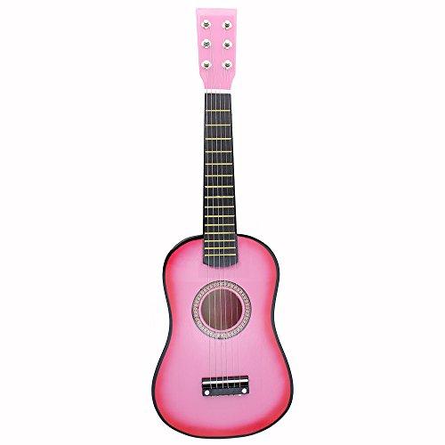 Kindergitarre, Musikinstrumente Spielzeug, Gitarren und Saiteninstrumente für Kinder von 21 Zoll für Anfänger 6 Saiten - Sitar-gitarre
