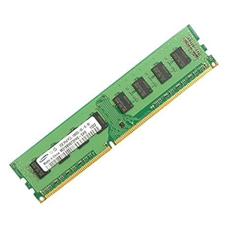 Ram Barrette Mémoire SAMSUNG M378B5673FH0-CF8 2GB DDR3 PC3-8500U 2Rx8 Pc Bureau