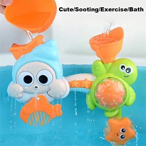 Mitlfuny Kawaii Langsam Dekompression Creme Duftenden Groß Squishy Spielzeug Squeeze Spielzeug,Karikatur-Baby-Bad-Spielzeug-Badezimmer-Badewanne-lustige Dusche, die Wasser-Spielwaren spritzt