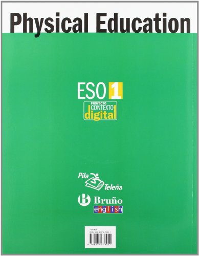 ContextoDigital Physical Education 1 ESO - 9788421673911