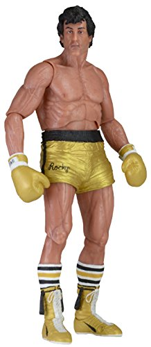 ROCKY 40TH ANNIV ROCKY 3 ROCKY GOLD TRUNK ACTIONFIGUR (Rocky 3-action-figuren)
