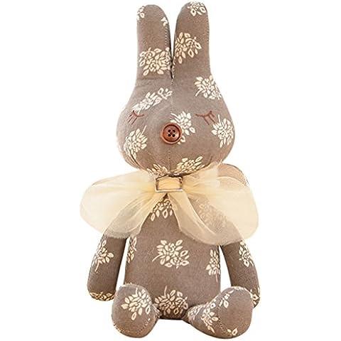 Happy Cherry - Juguete Muñeca Peluche Animal de Felpa para Bebés niños niñas - Conejo