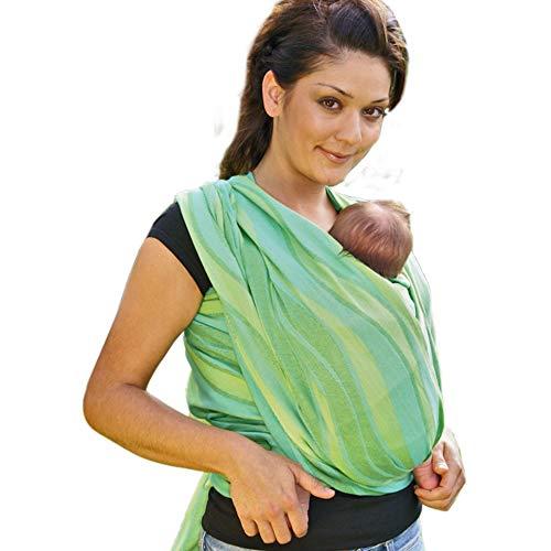 Didymos 453005 Babytragetuch, Modell Wellen lind, Größe 5