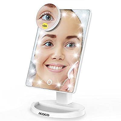 ACOCO Makeup Mirror - inexpensive UK light shop.