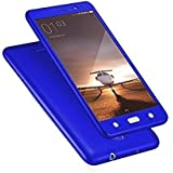 SAMSUNG GALAXY J7 PRO iPAKY 360 High Quality Protective Case And Tempered Glass(BLUE)