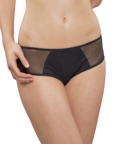 Passionata Damen Hipster Miss Joy-Shorty, Schwarz (Schwarz 11), 40 - Shorty Damen Panty