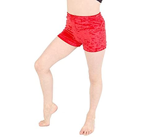 Hot Pants Velour Flo Pink size 0