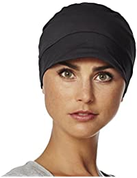 Gorro Molli para quimioterapia 100% algodón color negro