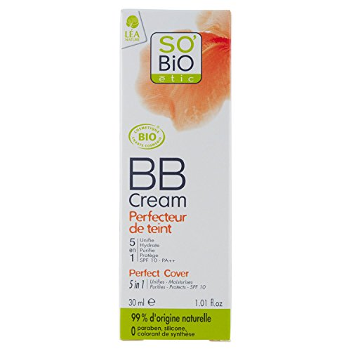 So'Bio Étic Teint BB Cream 5 en 1 01 Beige Nude Tube de 30 ml - Lot de 2