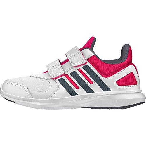 adidas , Chaussures d'athlétisme pour garçon noir Blanc / rose / gris