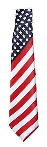 USA Krawatte für Herren ()