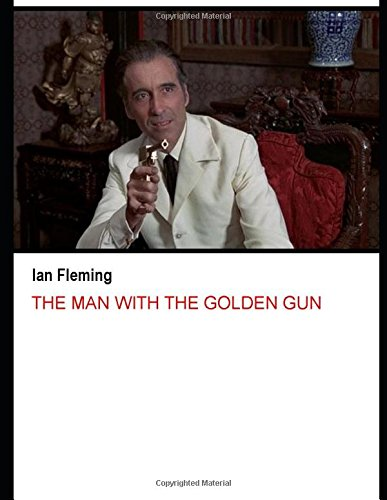 Book cover for The Man with the Golden Gun