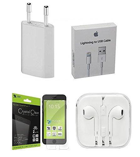 100% originale Apple MA591G/B 30pin a USB cavo di ricarica e sincronizzazione dati per iPhone, iPod, iPad, iPhone, iPod Dock, IPad Keyboard Dock, iPhone 4S, 4, 3GS, 3G, 2g, iPod Touch, Nano, Shuff - Apple Mega Upgrade Kit 1