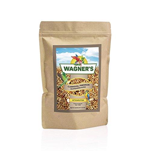 Wagner's Sittichfutter Carnival Premium - 500 g Saaten Futter Mischung für Sittiche