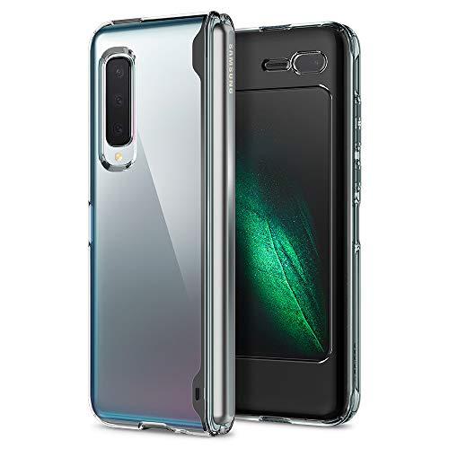 Spigen Cover Galaxy Fold Ultra Hybrid Progettato per Samsung Galaxy Fold Custodia - Crystal Clear