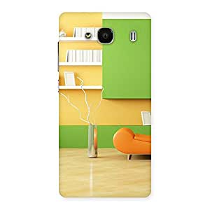 Delighted Pleasant Home Multicolor Back Case Cover for Redmi 2